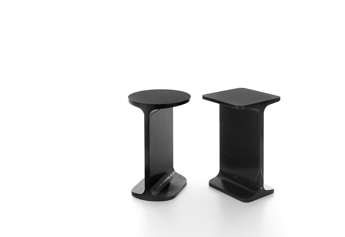 Ipe Quadro & Tondo Side Tables, 2009, James irvine, Marsotto