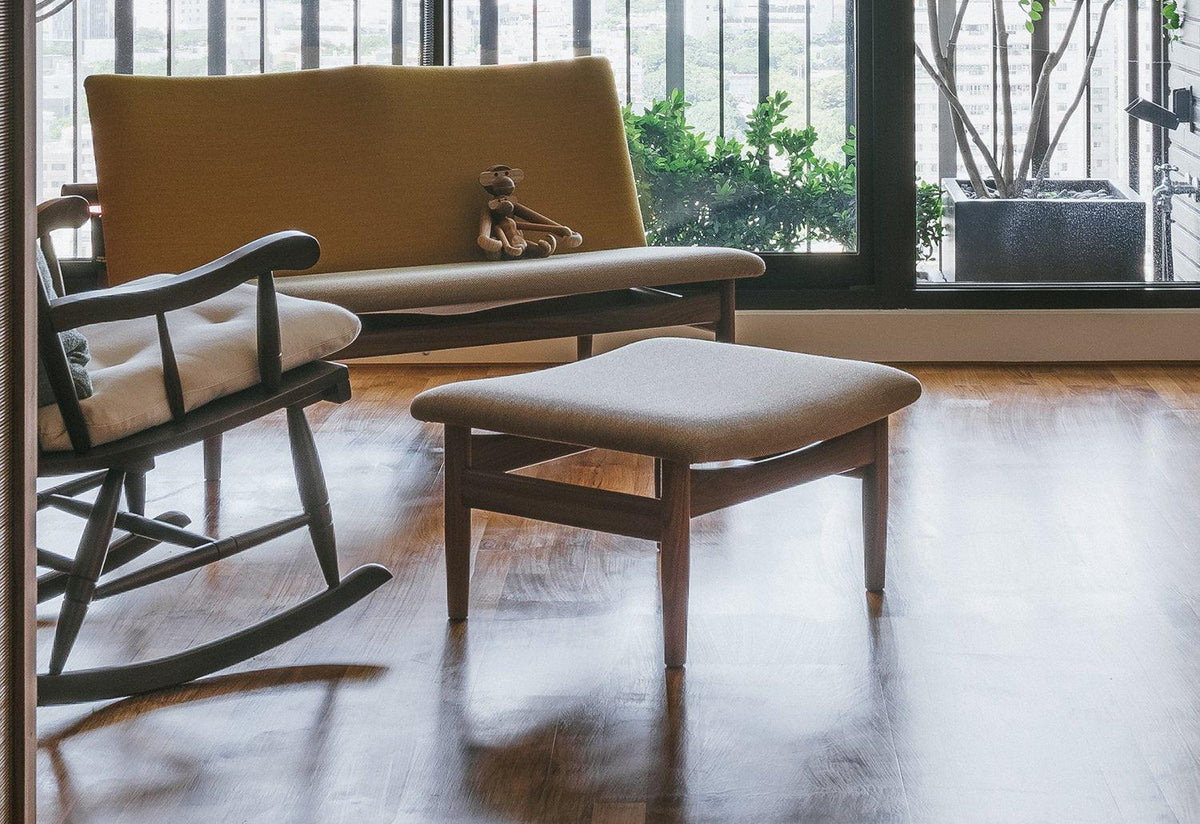 Japan footstool, 1953, Finn juhl, House of finn juhl
