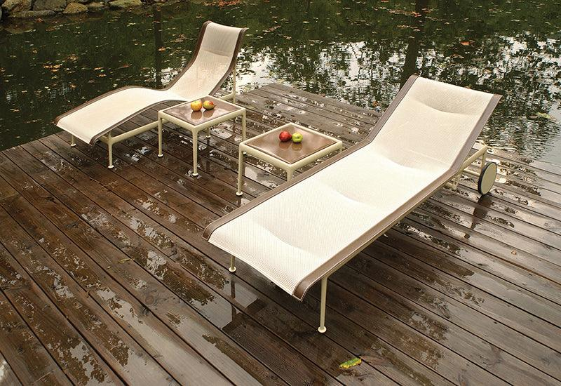 The 1966 outdoor contour Chaise by Richard Schultz for Knoll.