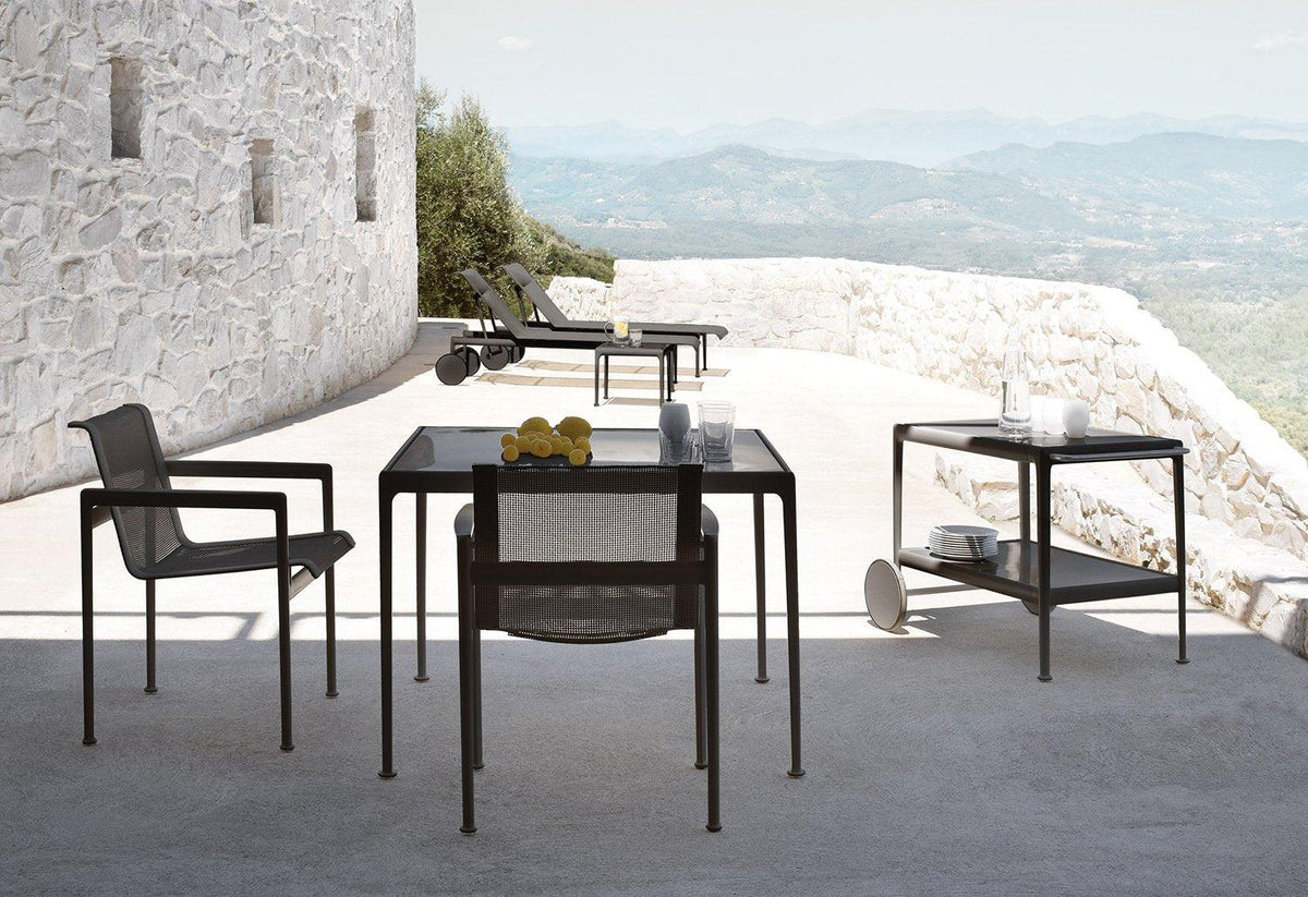 1966 outdoor dining table, 1960, Richard schultz, Knoll