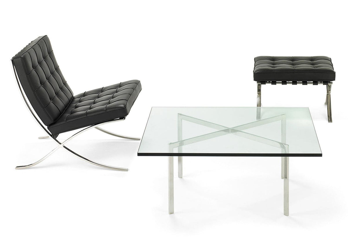 Barcelona Low Table, 1929, Mies van der rohe, Knoll