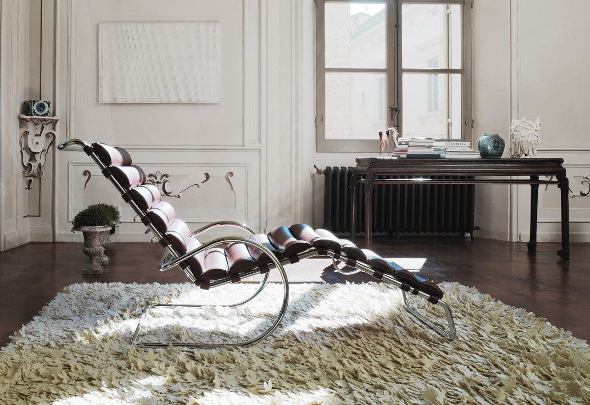 MR adjustable chaise, 1927, Mies van der rohe, Knoll