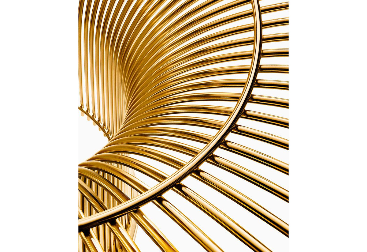 Platner Gold lounge chair, 1966, Warren platner, Knoll
