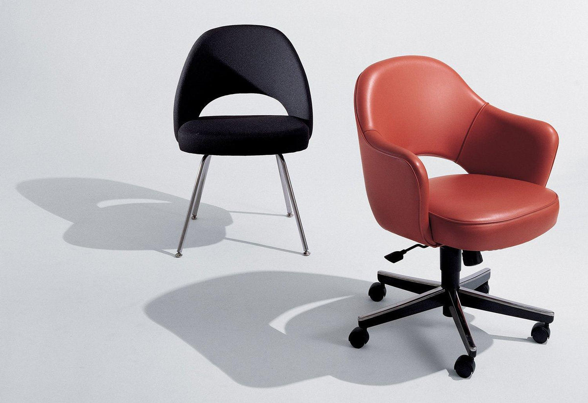 Conference swivel armchair, 1946, Eero saarinen, Knoll