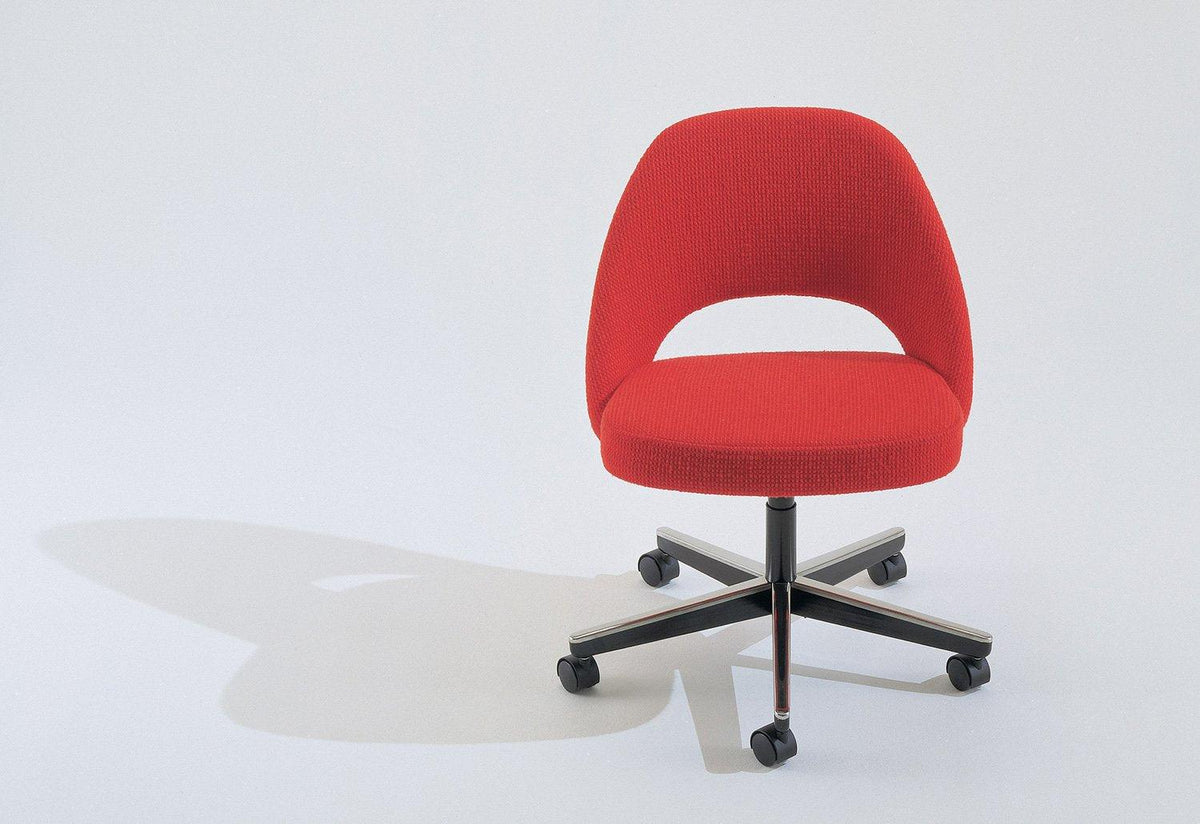 Conference swivel side chair, 1946, Eero saarinen, Knoll