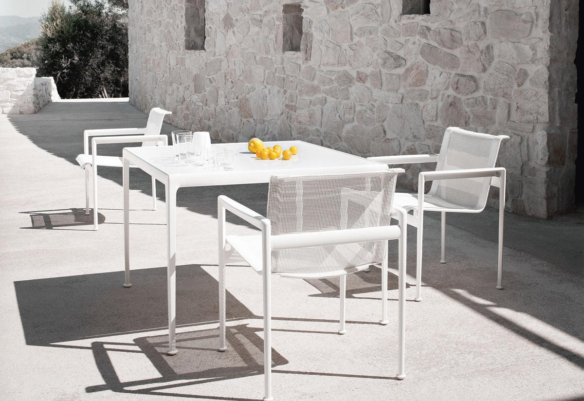 1966 outdoor dining armchair, 1966, Richard schultz, Knoll