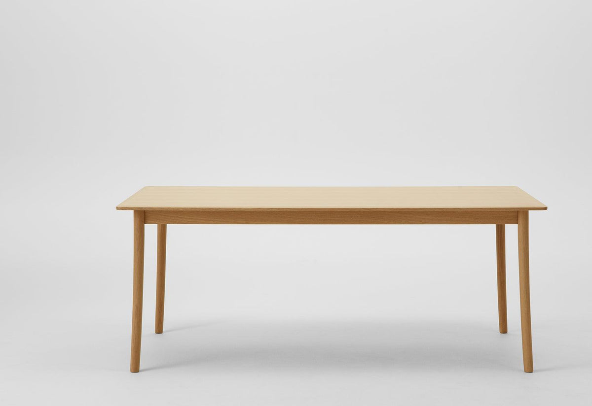 Lightwood dining table, Jasper morrison, Maruni