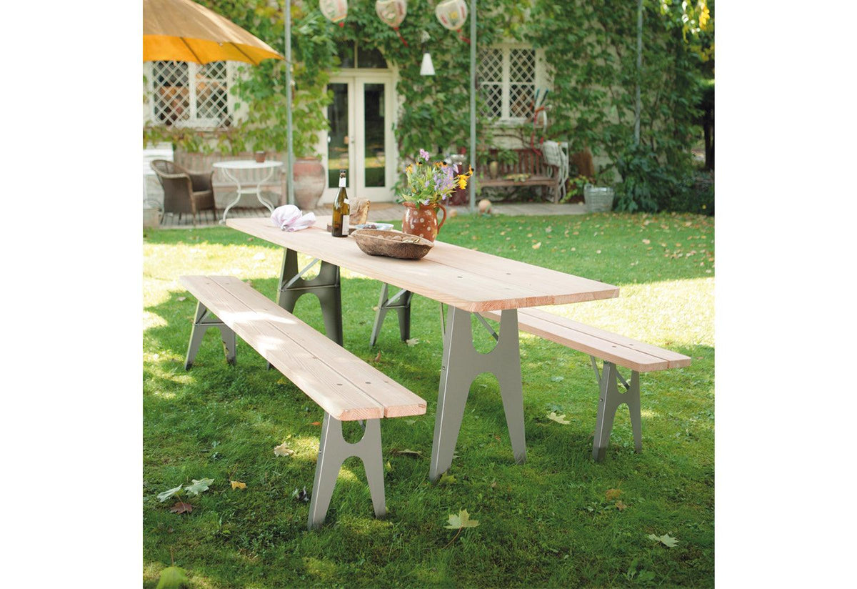 Ludwig outdoor dining table, 2008, Alexander seifried, Richard lampert