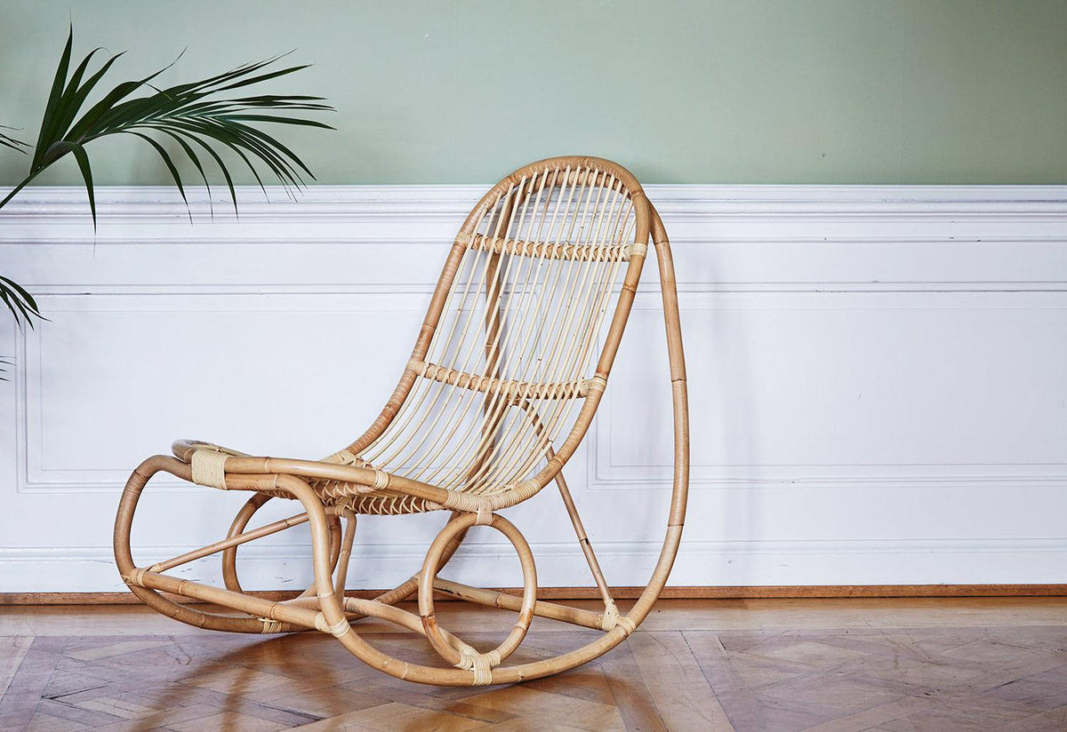 Nanny rocking chair, Nanna ditzel, Sika design