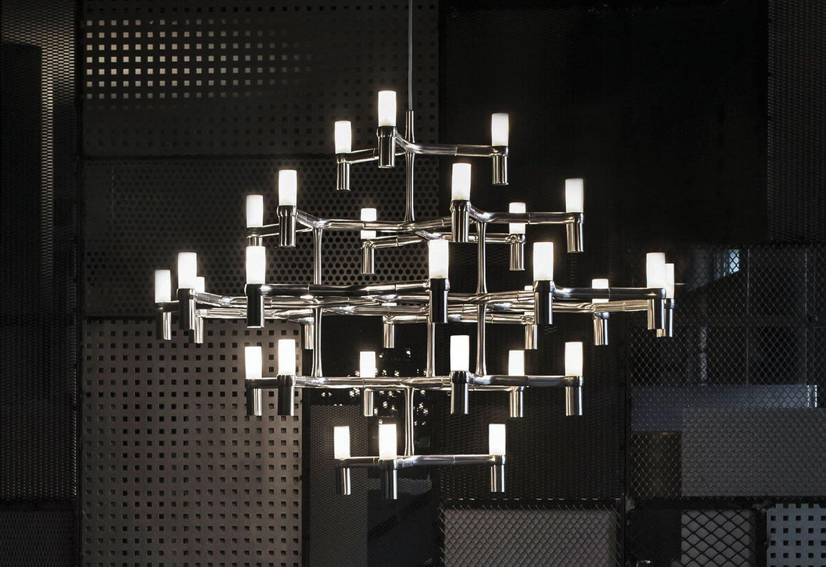 Crown Major chandelier, 2009, Markus jehs and jurgen laub, Nemo lighting