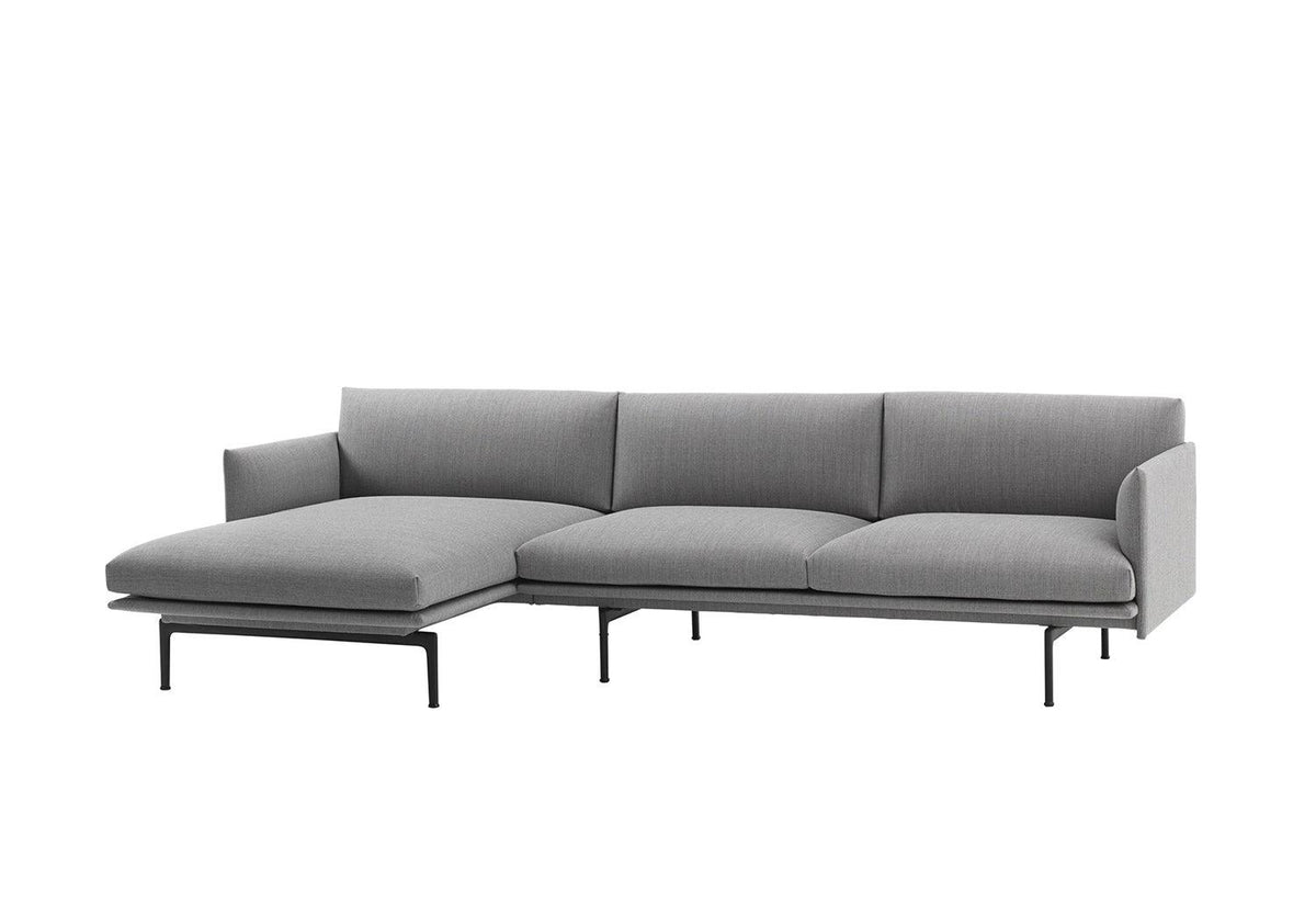 Outline sofa chaise lounge, 2018, Anderssen and voll, Muuto