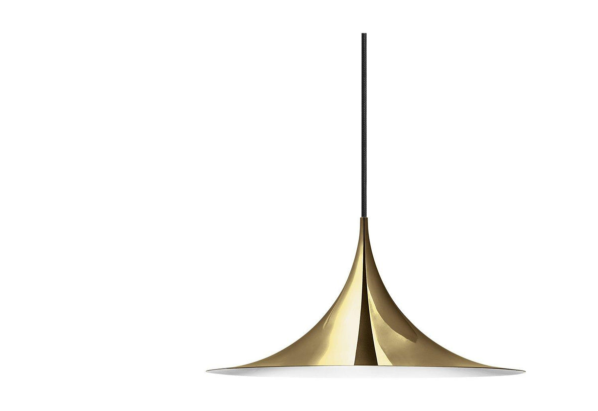 Semi metallic pendant, 1968, Bonderup and thorup, Gubi
