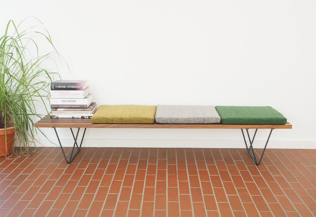 Slatted Bench cushion, Gerd hay-edie, Mourne textiles