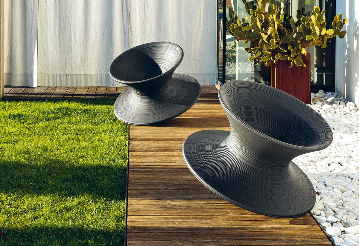 Spun outdoor chair, 2010, Thomas heatherwick, Magis