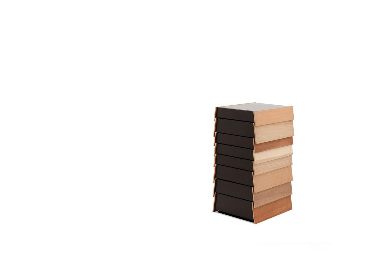 Stack storage - Wood veneer, 2008, Shay alkalay, Established and sons