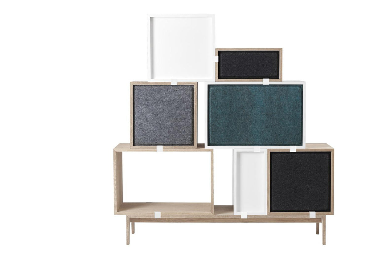 Stacked acoustic panels, Jds architects, Muuto