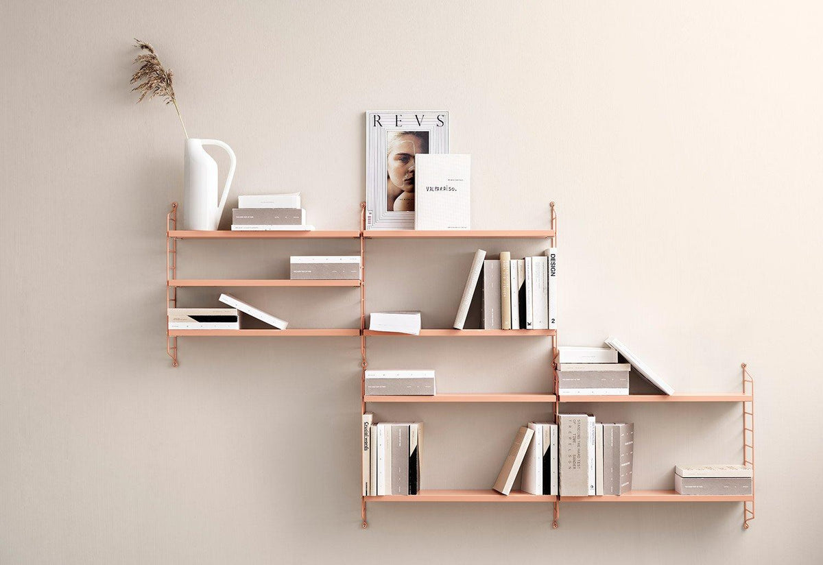 String Pocket shelving, 1949, Nisse strinning, String