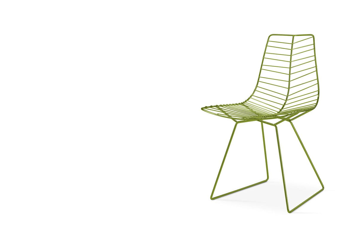 Leaf outdoor sled chair, Lievore altherr molina, Arper