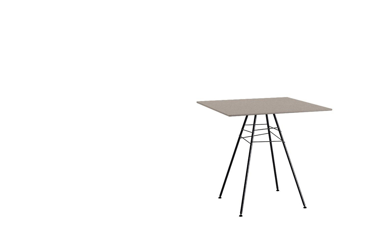 Leaf outdoor table square, Lievore altherr molina, Arper