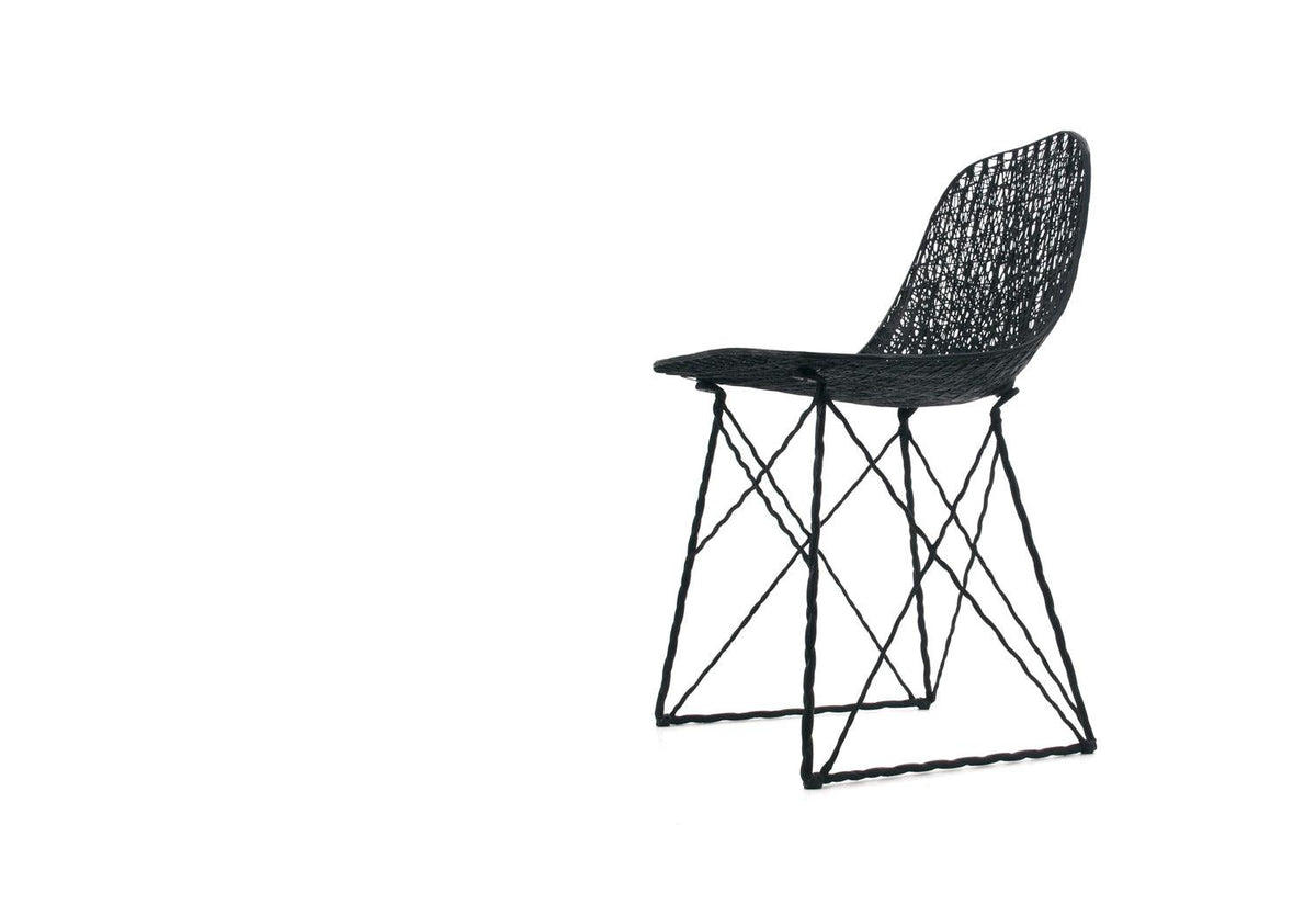 Carbon dining chair, 2004, Bertjan pot, Moooi
