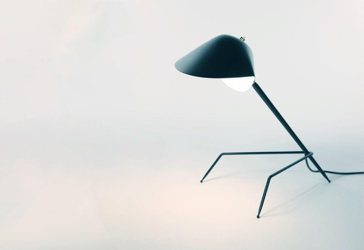 Lampe Tripode, 1954, Serge mouille, Serge mouille editions