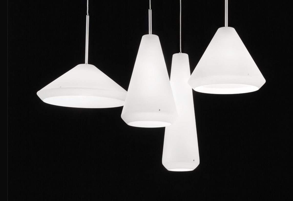 Withwhite pendant light, 2009, Mauro olivieri, Vistosi