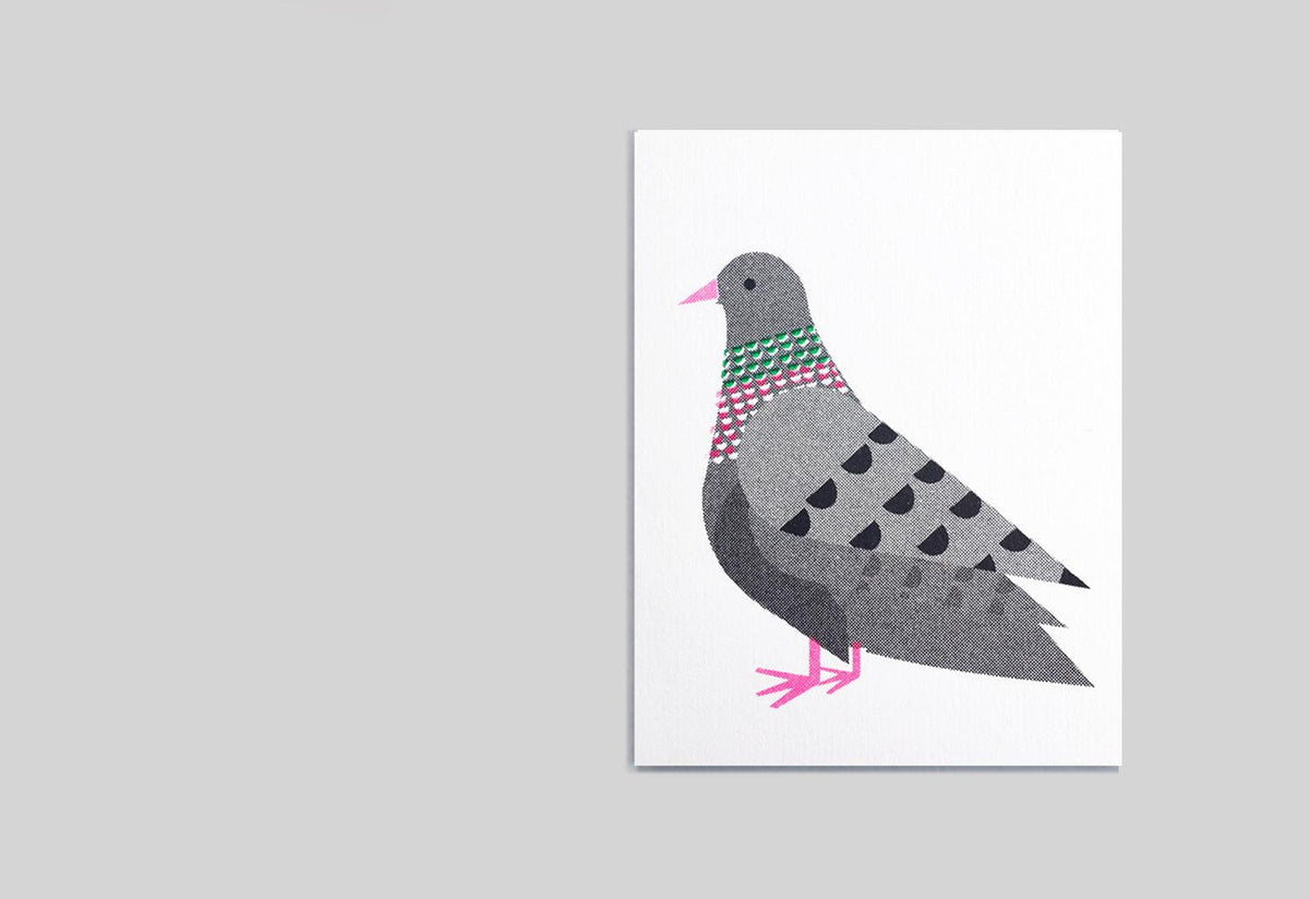 Pigeon mini card, Scout editions