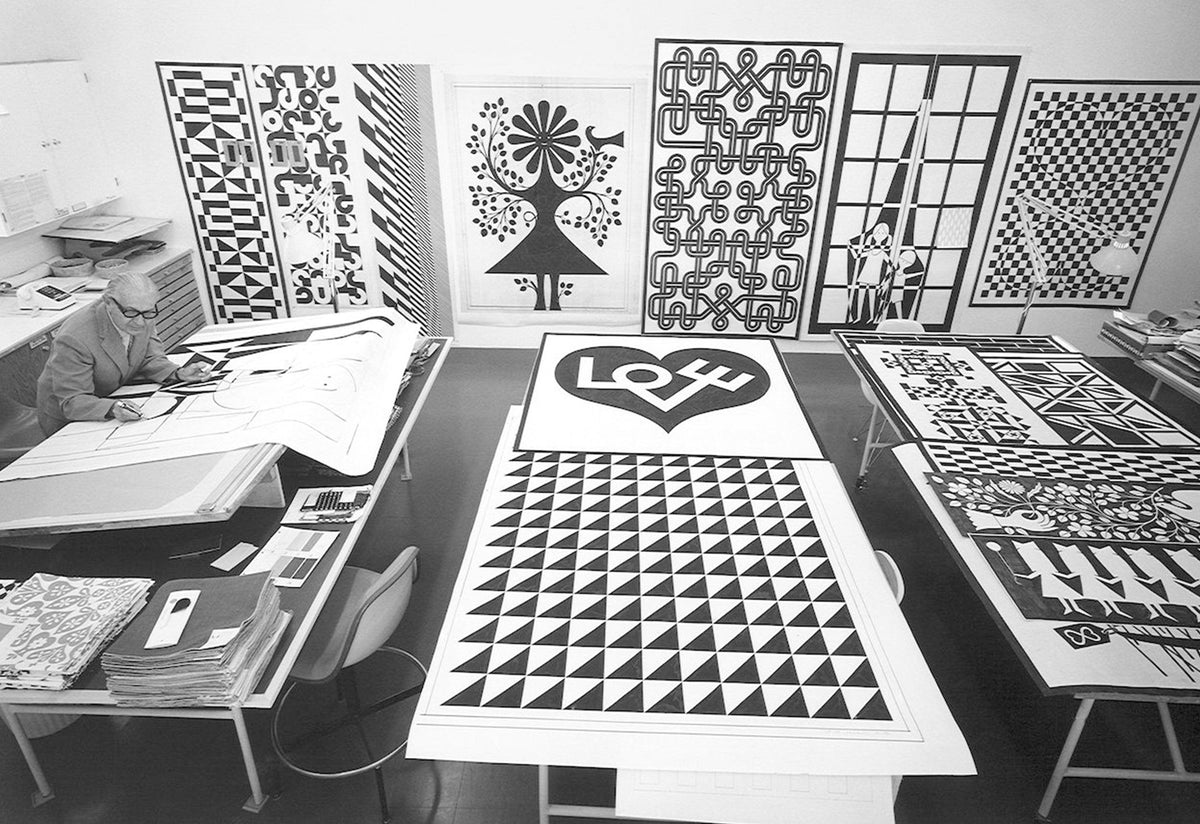 Alexander Girard Environmental wall hangings, 1971, Alexander girard, Vitra