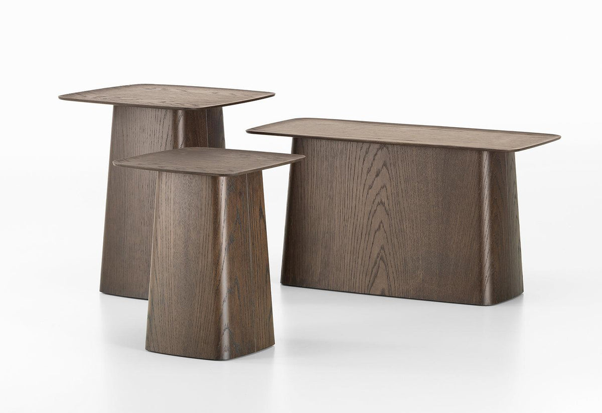 Wooden side table, Ronan and erwan bouroullec, Vitra