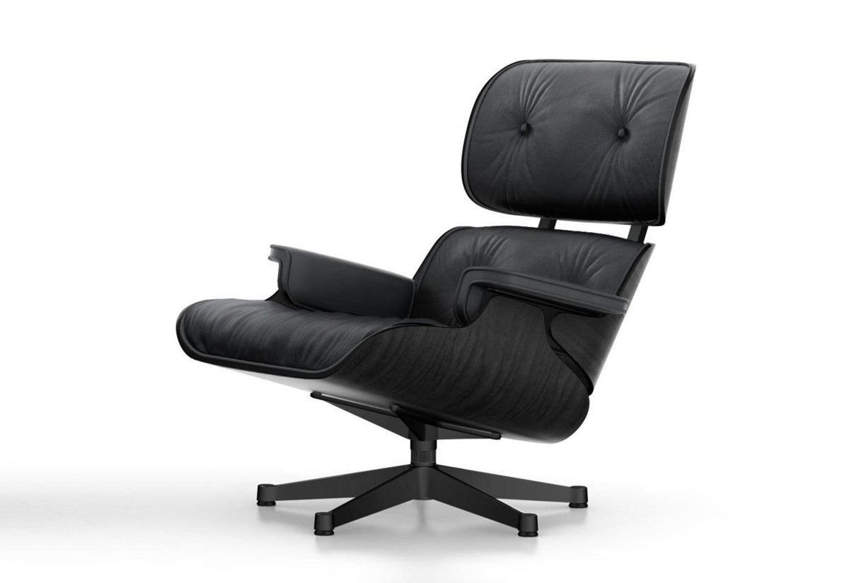 Eames lounge chair - Black ash, 1956, Charles and ray eames, Vitra