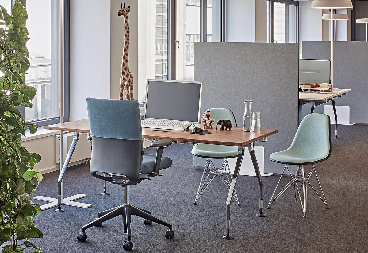 Eames DSR side chair, 1950, Charles and ray eames, Vitra