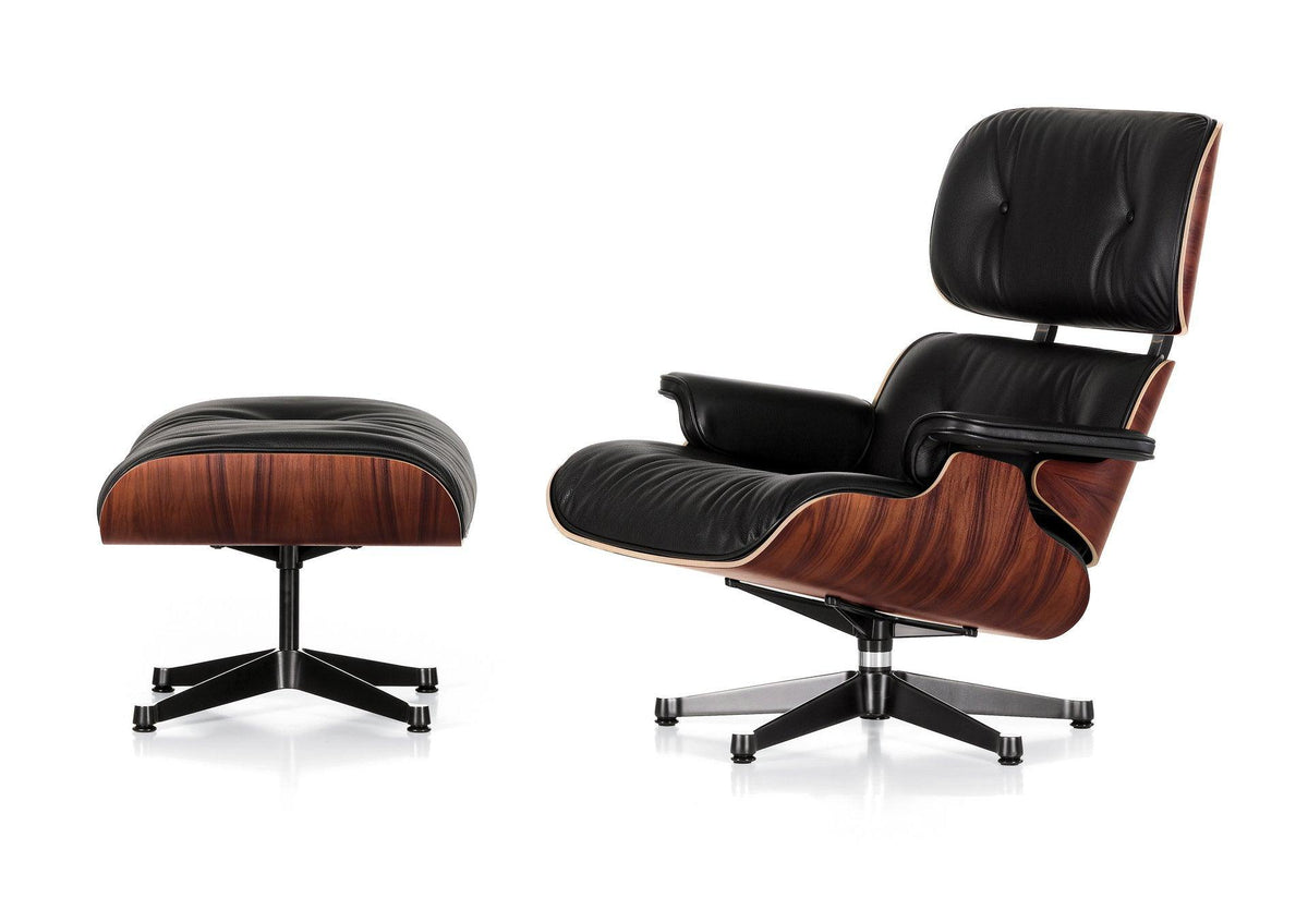Eames lounge chair + ottoman - Santos Palisander, 1956, Charles and ray eames, Vitra