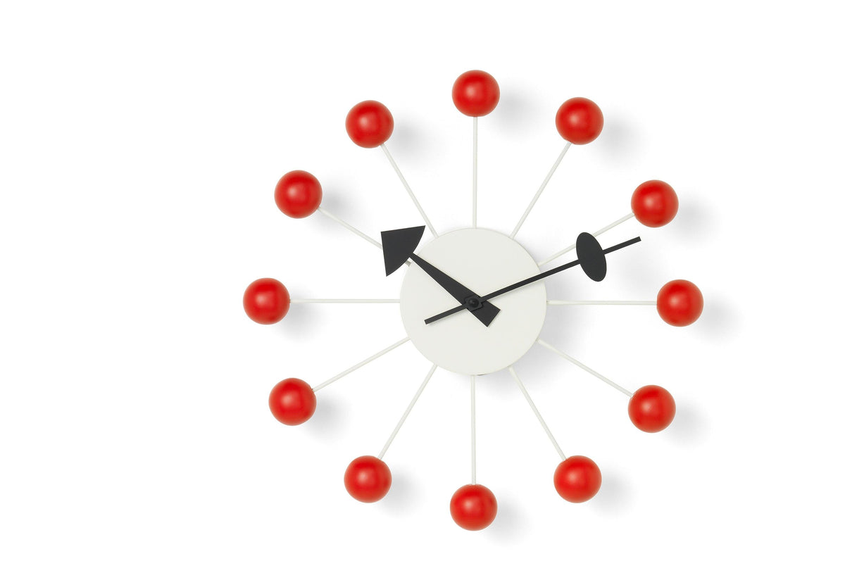 Ball clock, 1948, George nelson, Vitra