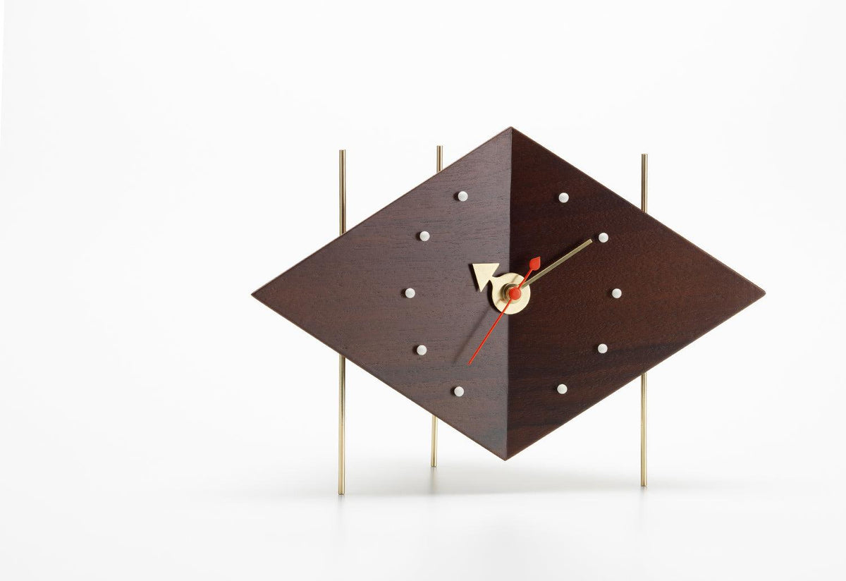 Diamond clock, 1947, George nelson, Vitra