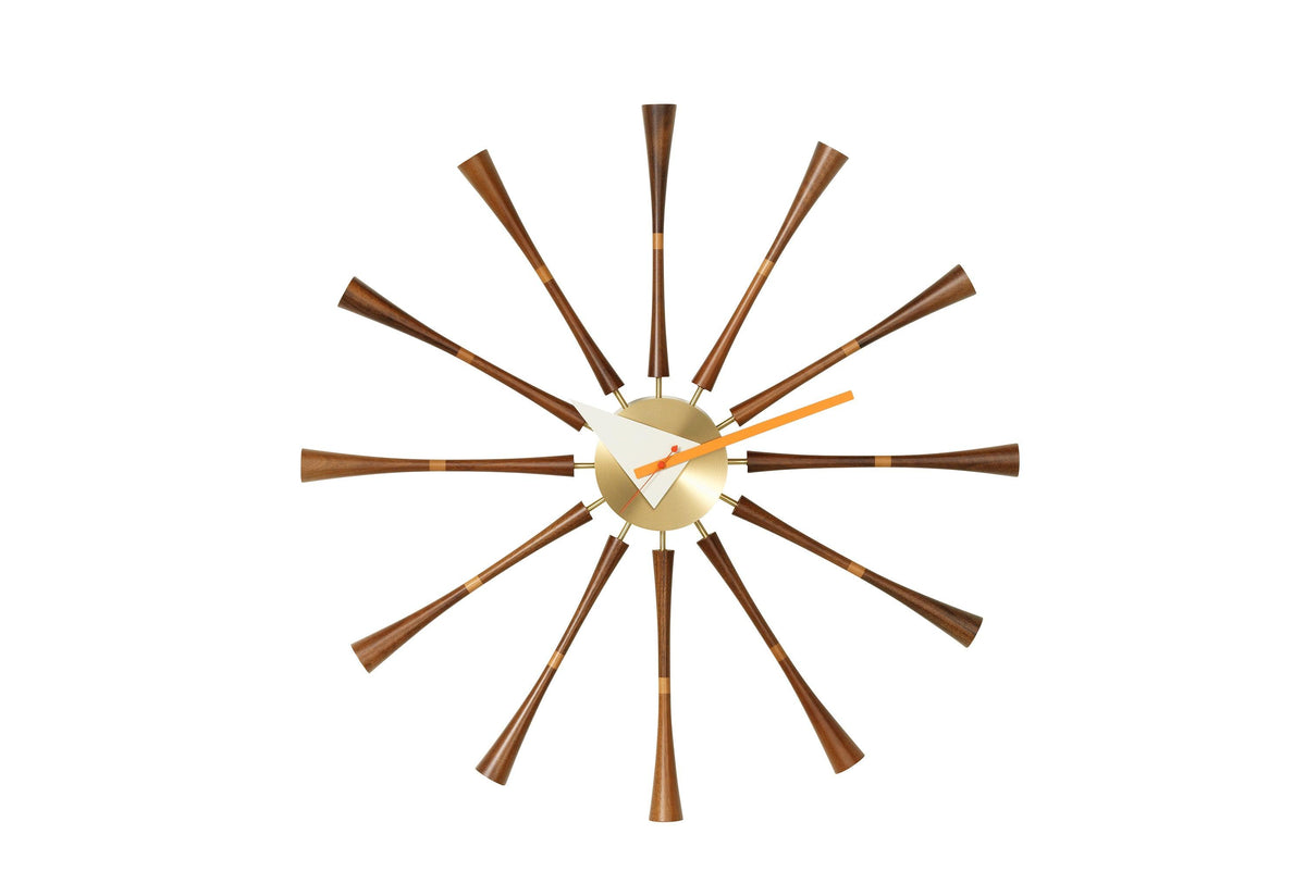Spindle clock, 1948, George nelson, Vitra