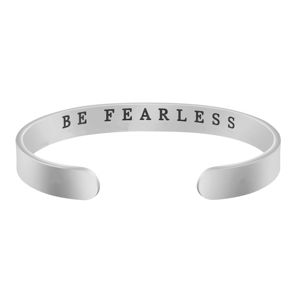 Inspiring Classic Quotes 925 Sterling Silver Adjustable Lettering Bracelet Personalized Custom Gift