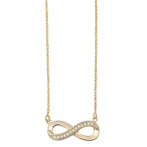 Gold Plated Infinity Knot