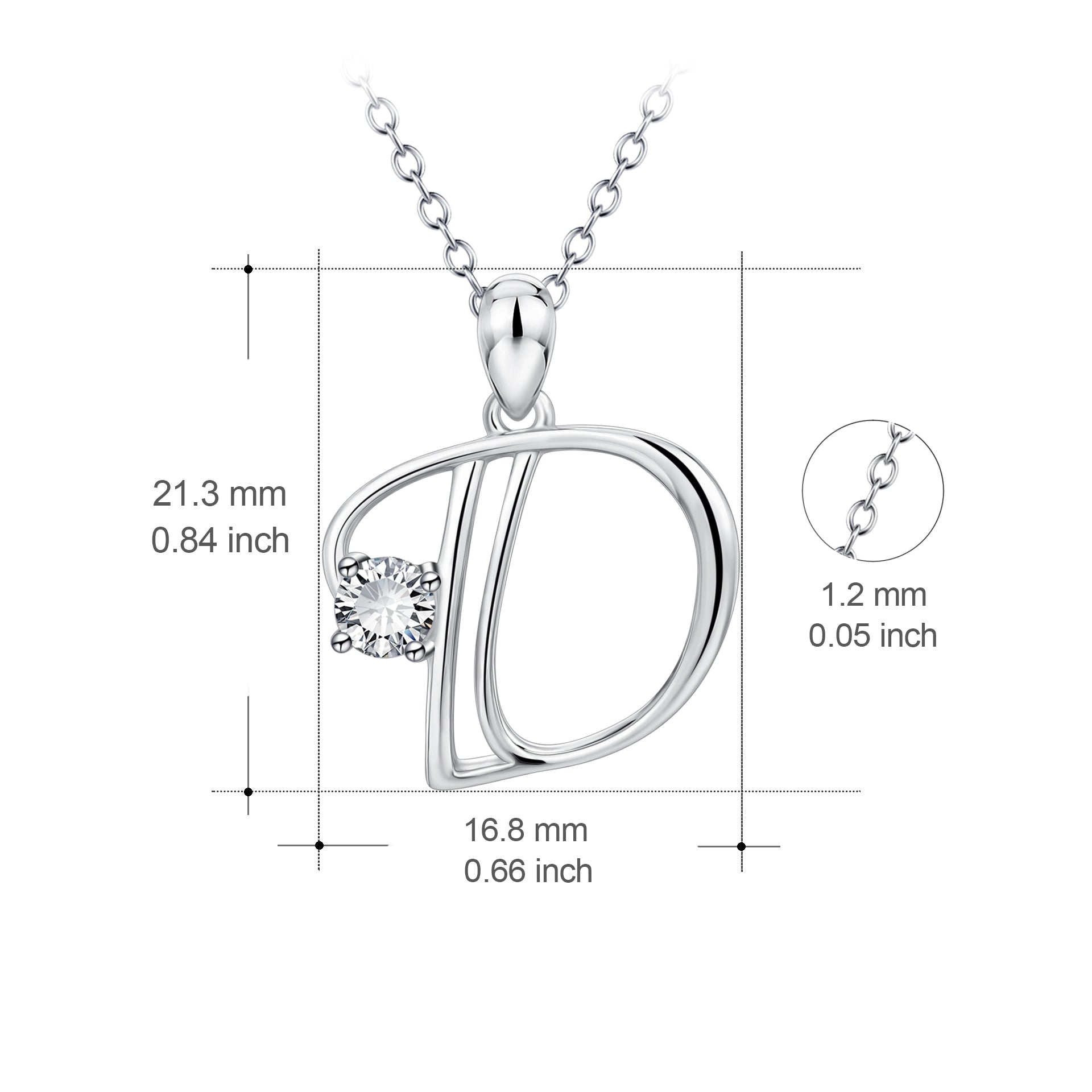 Factory New  Letter Necklace High Quality Chain Pendant Necklace