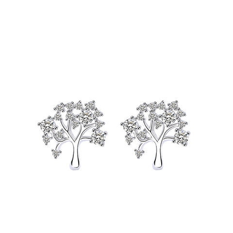 Micro Diamond Branch Earrings