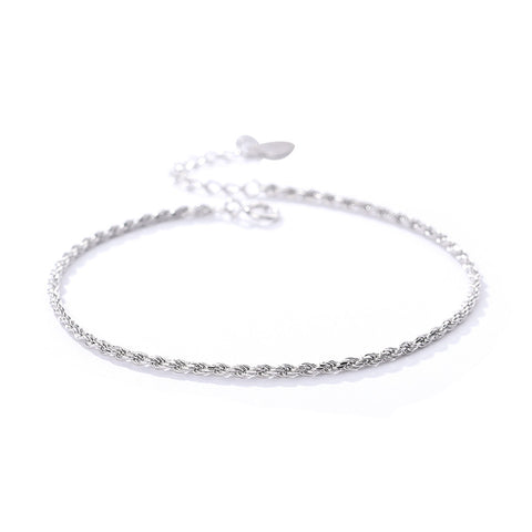 s925 sterling silver bracelet female Korean fashion net red starry bracelet simple bracelet