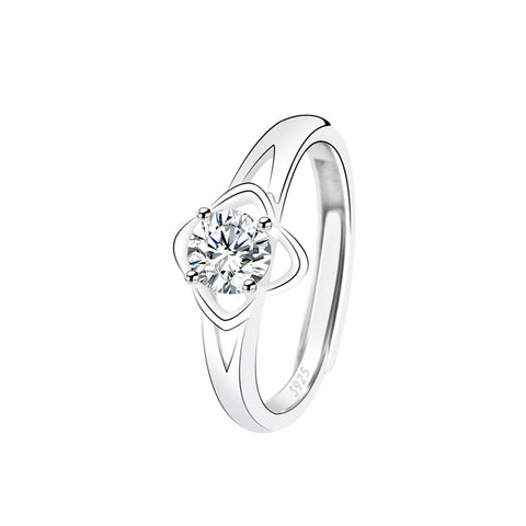 four-leaf clover rings