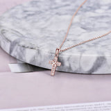 Rose Gold Plating Necklace 925 Sterling Silver Men Accessory Necklace