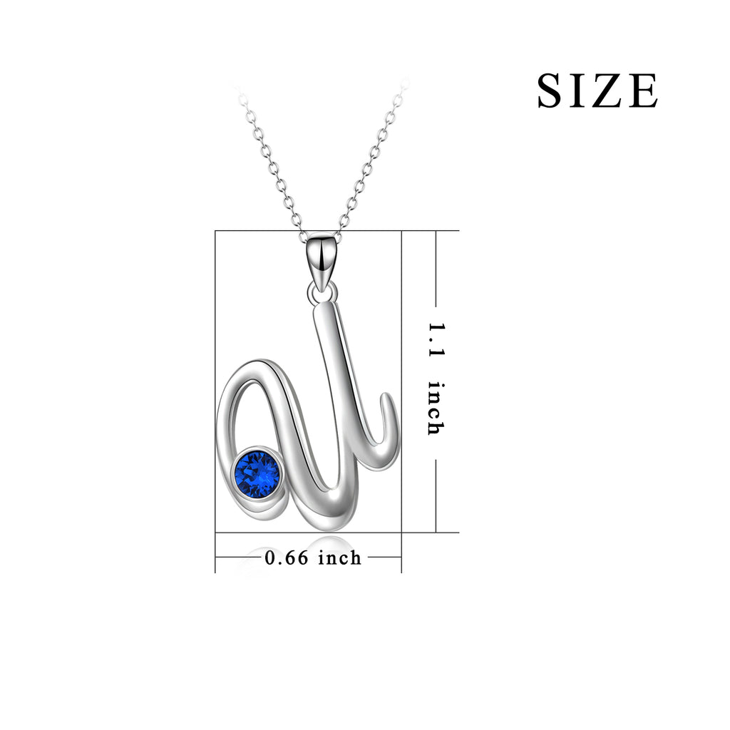 2019 Latest Design Hot Selling Real Silver Pendant U Necklace Jewelry