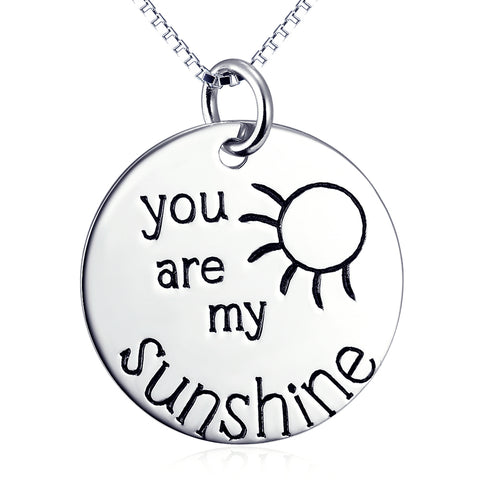 You Are My Necklace Loveing Wholesale 925 Sterling Silver Anniversary Gift Jewelry For Woman And Man