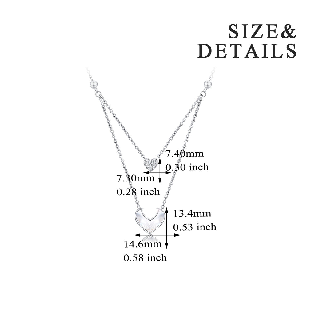 Custom Fashion Heart Gemstone Stone Accessories Necklaces Jewelry Women Pendant Necklace
