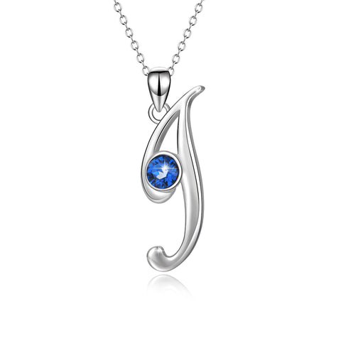 Sterling 925 Silver bezel Gemstone Pendant Necklace  CZ Women I Necklaces
