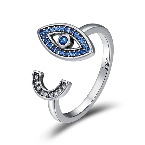 Charm Blue Eye Ring