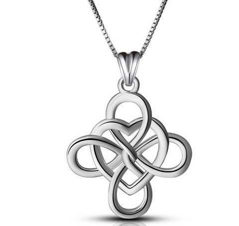 Good luckly Celtics Love Knot Pendant