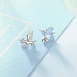 Unicorn Earrings New Arrivals  Women's Wholesale Silver Earrings