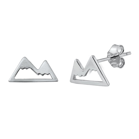 Mountains Stud Earrings